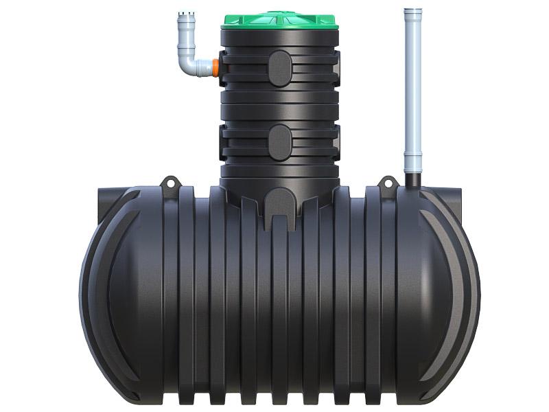 Емкость для топлива S-DT4000 R