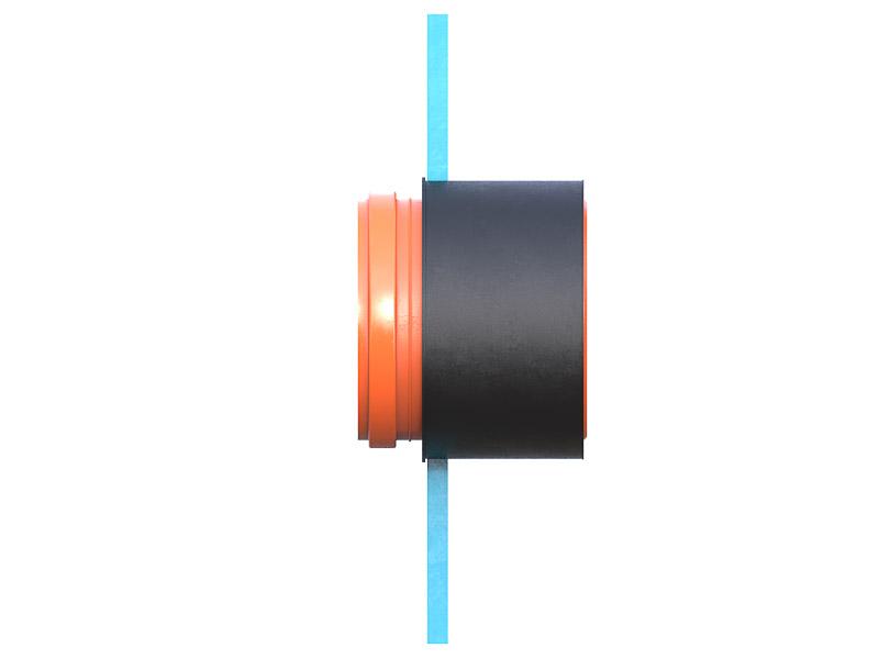 Муфта резиновая Wawin 160-2