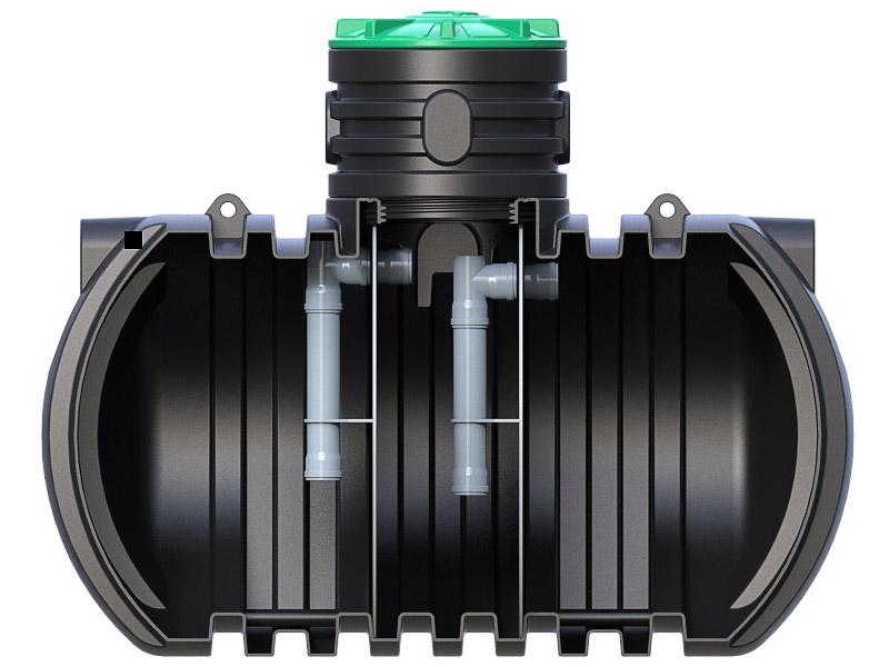 Септик трехкамерный RODLEX SO-4000-3 R